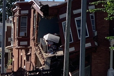 mount airy home collapse