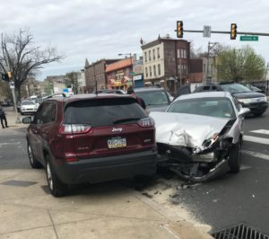 Philadelphia intersection accident